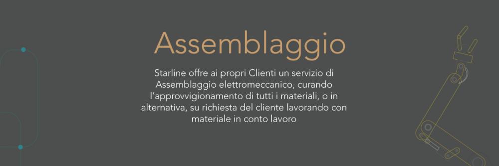 Starline_assemblaggio elettromeccanico